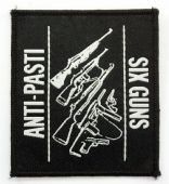Anti-Pasti - 'Six Guns' Woven Patch